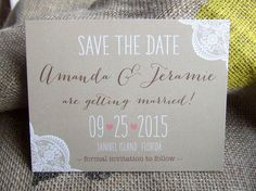 Wedding Save the Dates Announcements Magnets by SAEdesignstudio