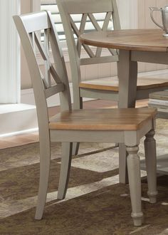 Al Fresco Dining Double X Back Side Chair (Set of 2) (541-C3000S)   Liberty