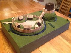 Image result for motte and bailey castles school History Projects, School Art Projects, Art School, Diy Projects, School Stuff, Kids Homework, Homework Ideas, New Crafts, Crafts For Kids