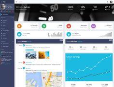 60  Best Admin Dashboard Templates