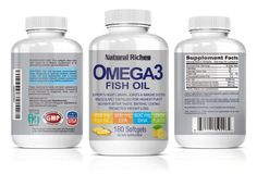 Beauty, Health and Everything Else: HEALTH: Omega 3 Fish Oil from Natural Riches