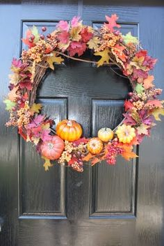 Made By Megg: Easy DIY Fall Wreaths