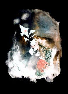Afterfantasy   Sova Hůová Pandora, Paintings, Fine Art, Illustration, Prints, Paint, Painting Art, Illustrations, Painting