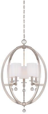 Four Light Pendant Orb Chandelier