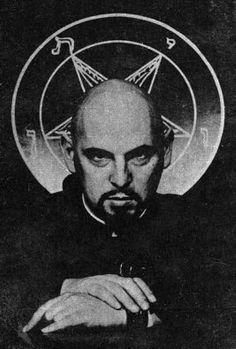 Anton Szandor LaVey and the Church of Satan The Satanic Bible, Satanic Art, Satanic Tattoos, Laveyan Satanism, Beast Of Revelation, Satanic Rituals, Occult Art, Demonology, Evil Spirits