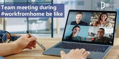 By embracing online #teammeetings with the provided remote work, we accept questions and can discuss the challenges we face with isolation at home. Regular online team meetings bring together the productivity and cadence of the team intact or minimal which doesn't hamper the #business. #teammeeting #workfromhome #remotework #selfisolation Meet The Team, Digital Marketing Services, App Development, Hamper, Productivity, Remote, Minimal, Challenges, Social Media
