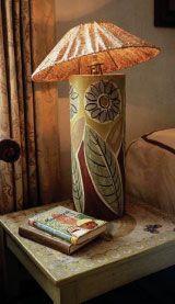 Charleston Farm lamp.