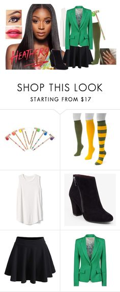 """""""Heather Duke"""" by mia-the-cat-lover ❤ liked on Polyvore featuring Muk Luks, Gap, BCBGeneration, WithChic and Emilio Pucci"""