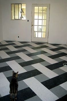 this old house basket weave linoleum - Google Search