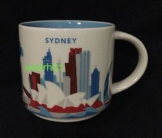 Starbucks Sydney YAH Mug Australia You Are Here Opera Bridge Darling Harbour Eye | eBay
