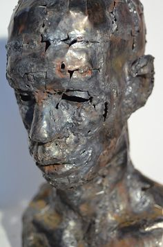 Portraits in metal / #Sculpture on Behance #Art