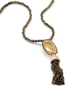 Tatiana Beaded Necklace