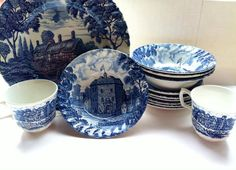 Shakespeares Country Royal Essex Ironstone Made in by VintgeYoYo