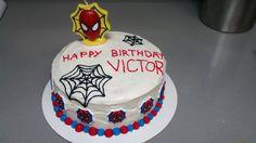 Spiderman Cake by Jess B.