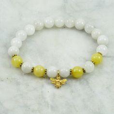 Honey_Mala_Bracelet_21_Quartz_Mala_Beads_Buddhist_Bracelet