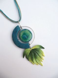 Necklace by KRISSOBE | Polymer Clay Planet