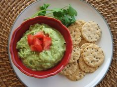 White Bean Guacamole Dip (perfect for your Super Bowl Party!)