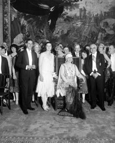 The Romanian royal family at a State Dinner held at the Drake Hotel on Nov. Queen Marie of Romania, seated, is surrounded by her s. Mary I, Queen Mary, Romanian Royal Family, Drake Hotel, Victorian Life, Chicago Photos, Chicago Tribune, Kaiser, High Society