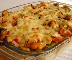 This Milano Chicken Casserole is a creamy chicken and ham casserole is a great weeknight meal and you can double the recipe to make one for the freezer! Ham Casserole, Chicken Casserole, How To Double A Recipe, Creamy Chicken, Savoury Dishes, Weeknight Meals, Mashed Potatoes, Macaroni And Cheese