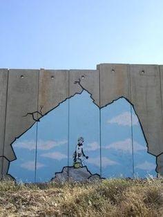 【画像】芸術テロリスト「Banksy」のアート作品のセンスがやばすぎる【動画】 - NAVER まとめ