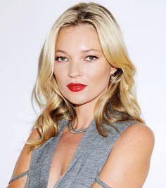 How Kate Moss Gets Ready for Holiday Parties via @byrdiebeauty