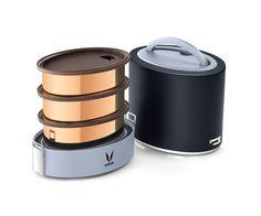 Black Lunch Box: Buy Black Stainless Steel Lunch Box Online in India - Vaya.in