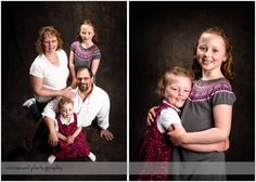 Family portrait session in my studio.
