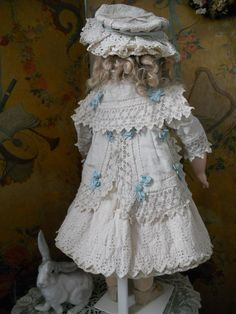 ~~~ Beautiful three Piece Childlike French Pique Bebe Dress ~~~ from whendreamscometrue on Ruby Lane