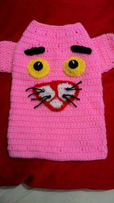 Roupa de cachorrinho  Pantera cor de rosa