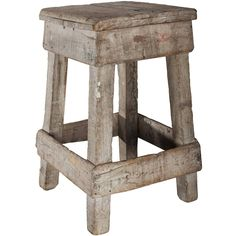 Primitive Sculpture Stand | From a unique collection of antique and modern industrial and work tables at https://www.1stdibs.com/furniture/tables/industrial-work-tables/