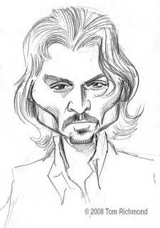 Johnny Depp. Tom Richmond