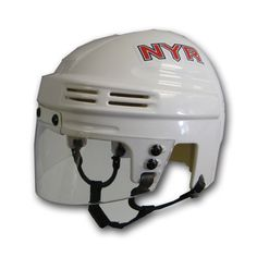Official Licensed Mini Player Helmets - New York Rangers