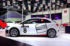 SEAT Ibiza SC Trophy Volkswagen Group, Ibiza, Car Seats, Racing, Bmw, Sport, Templates, Cars, Running