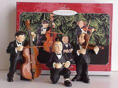 The Three Stooges Vintage Christmas Ornaments, Three Stooges movies, dolls, fabric
