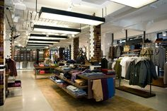 Ben Sherman flagship store by Brinkworth, London store design