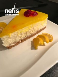 Limonlu Cheescake #limonlucheesecake #kektarifleri #nefisyemektarifleri #yemektarifleri #tarifsunum #lezzetlitarifler #lezzet #sunum #sunumönemlidir #tarif #yemek #food #yummy