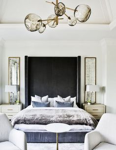 This is a Bedroom Interior Design Ideas. House is a private bedroom and is usually hidden from our guests. However, it is important to her, not only for comfort but also style. Much of our bedroom … Luxury Bedroom Design, Master Bedroom Design, Home Decor Bedroom, Modern Bedroom, Dream Bedroom, Bedroom Ideas, Master Suite, Bedroom Designs, Bedroom Furniture