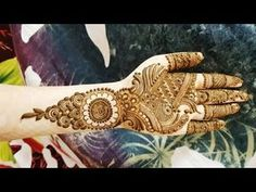 Latest Mehendi Designs for Hands & Legs - Happy Shappy Arabic Henna Designs, Mehandi Designs, Henna Mehndi, Mehendi, Eid Special, Henna Patterns, Designer Collection, Beautiful Outfits, Youtube