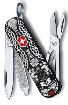 VICTORINOX Swiss Army Classic SD Pocket Knife, White Shadow - Limited Edition | Amazon
