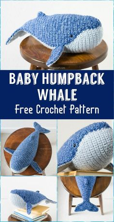 Baby Humpback Whale – Crochet Amigurumi - 110+ Free Crochet Patterns for Summer and Spring - Page 3 of 12 - DIY & Crafts