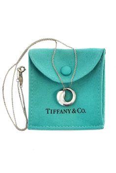 Tiffany & Co.- Elsa Peretti Eternal Circle Pendant Necklace   Current Boutique