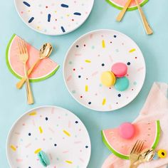 Confetti Pattern Placemats DIY