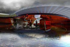 Aliviadero Pavilion Bar por Margot Krasojevic Tuvie   http://www.tuvie.com