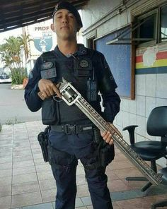 So, here's a photo that's been making the rounds on social media of late: a guy in some official-looking uniform holding a revolver with about a three-foot barrel. Does anyone know the origin of this picture or know anything about the gun? I'd love to learn more about it.Advertisement Does it work? What caliber is …