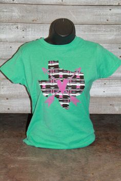 Aztec Texas Tee by kattannercreations on Etsy, $25.00