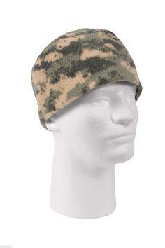 Digital ACU Camo Camofulage Polar Fleece Watch Cap Hat Tactical Hunting Cap  Outdoor Military. Fleece 0f03cb73eac2