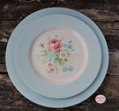 Greengate, Danish design, dansk design, Marie Pale Blue, Plate, Havets Sus, Denmark