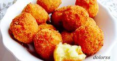 patatas, bolitas de patata y queso parmesano, aperitivo, cena, recetas fáciles, recetas sencillas, fotografía, gastronomía, blogdecuina, dolorss