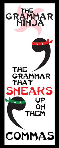 Every unit is all ninja, all the time. Ninja jokes, ninja facts, ninja stories. Students will have a riot of a time learning about Commas. Of all things! Commas Complete Unit - Grammar Ninja! Grammar learning activities and assessment!!! by Created for Learning