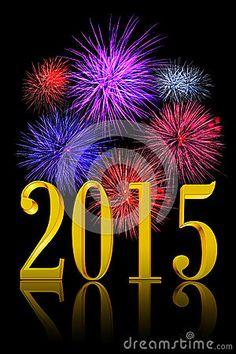 New Year 2015 Fireworks!!